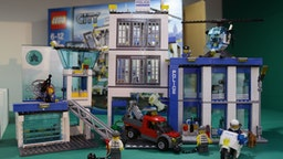 A Lego City Police Station set on display during the press day for the annual Toy Fair - where more than 280 companies launch thousands of brand new products to buyers and retailers - at Olympia in London. (Photo by Yui Mok/PA Images via Getty Images)
