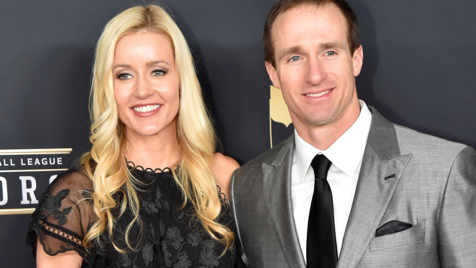 Brittany Brees and NFL Player Drew Brees attends the NFL Honors at University of Minnesota on February 3, 2018 in Minneapolis, Minnesota.