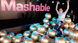 Mashable during SXSW at Austin Convention Center on March 9, 2018 in Austin, Texas.