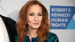 Author J.k. Rowling arrives at the RFK Ripple of Hope Awards at New York Hilton Midtown on December 12, 2019 in New York City