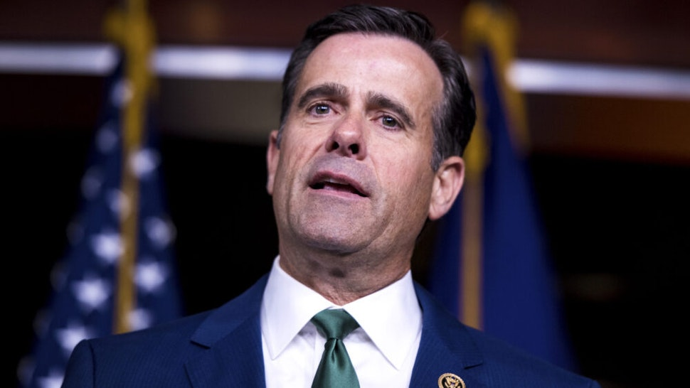 UNITED STATES - MARCH 26: Rep. John Ratcliffe, R-Texas, speaks during the House GOP post-caucus press conference in the Capitol on Tuesday, March 26, 2019.