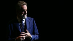 Jordan Peterson speaks at ICC Sydney Theatre on February 26, 2019 in Sydney, Australia. (Photo by Don Arnold/WireImage)