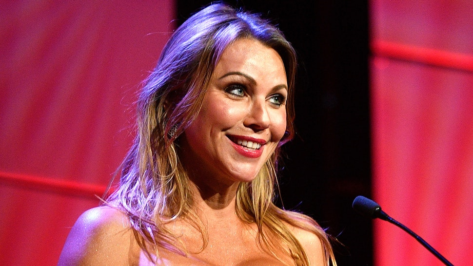 BEVERLY HILLS, CA - JUNE 06: Honoree Lara Logan accepts award onstage during the 42nd Annual Gracie Awards, hosted by The Alliance for Women in Media at the Beverly Wilshire Hotel on June 6, 2017 in Beverly Hills, California.
