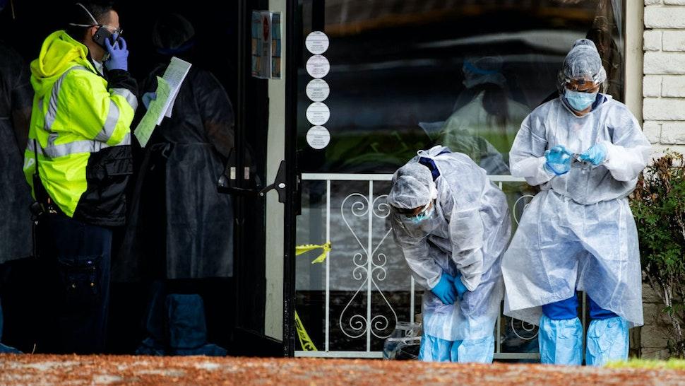 At Least 54,000 Coronavirus Deaths Linked To Nursing Homes