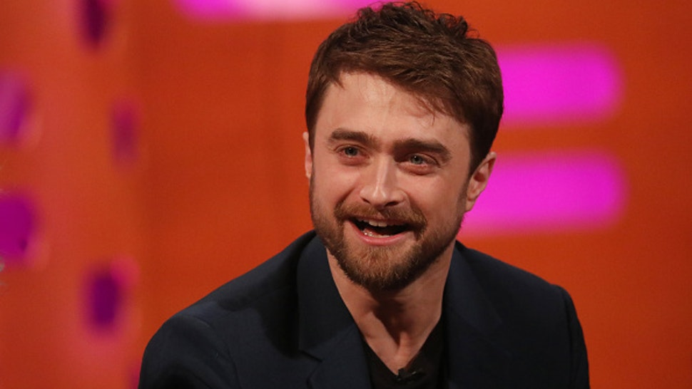 Daniel Radcliffe during the filming for the Graham Norton Show at BBC Studioworks 6 Television Centre, Wood Lane, London, to be aired on BBC One on Friday evening.