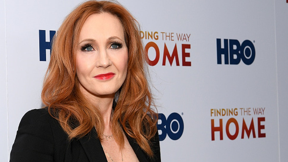 "NEW YORK, NEW YORK - DECEMBER 11: J.K. Rowling attends HBO's ""Finding The Way Home"" World Premiere at Hudson Yards on December 11, 2019 in New York City."