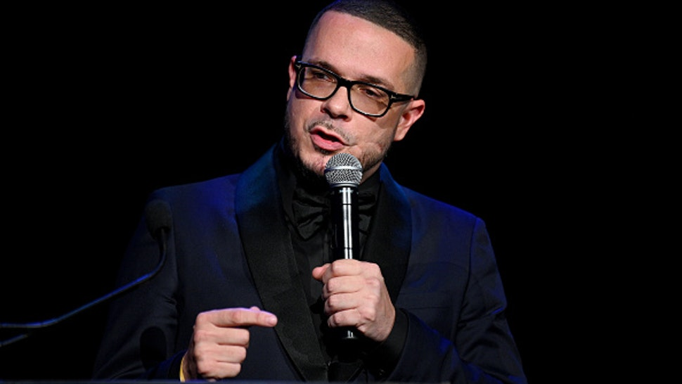 NEW YORK, NEW YORK - SEPTEMBER 12: Shaun King accepts an award onstage during Rihanna's 5th Annual Diamond Ball Benefitting The Clara Lionel Foundation at Cipriani Wall Street on September 12, 2019 in New York City.