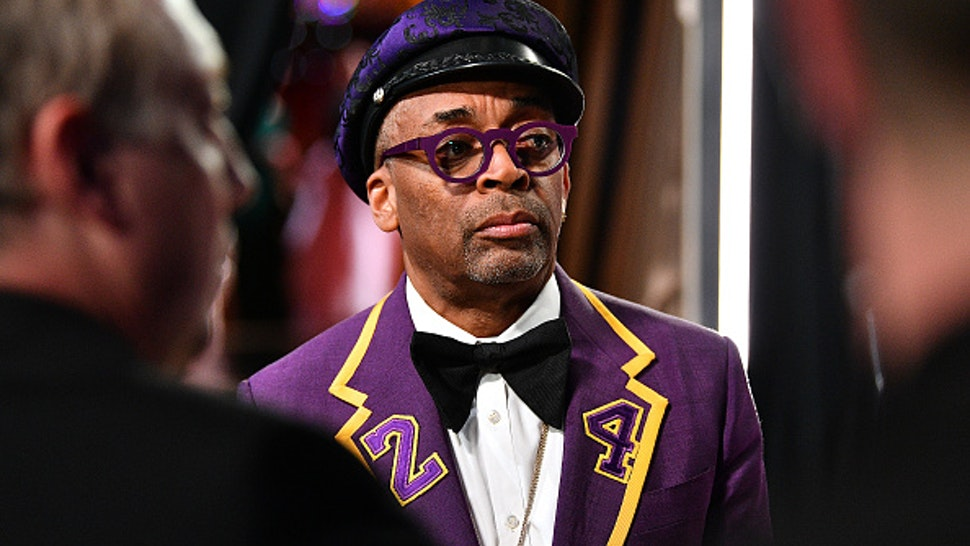 HOLLYWOOD, CALIFORNIA - FEBRUARY 09: In this handout photo provided by A.M.P.A.S. Spike Lee stands backstage during the 92nd Annual Academy Awards at the Dolby Theatre on February 09, 2020 in Hollywood, California.