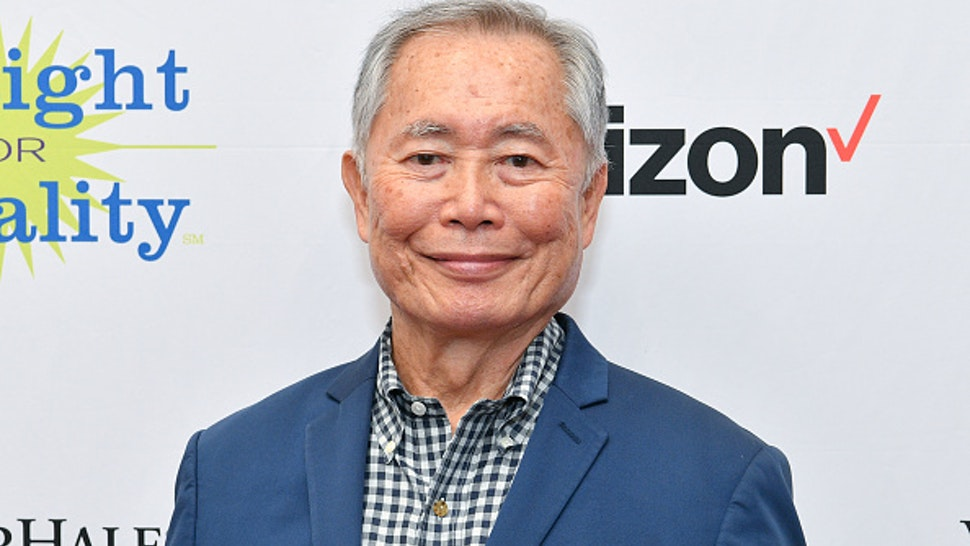 NEW YORK, NEW YORK - NOVEMBER 18: Honoree George Takei attends PFLAG Gives Thanks: Celebrating Inclusion in the Workplace on November 18, 2019 in New York City
