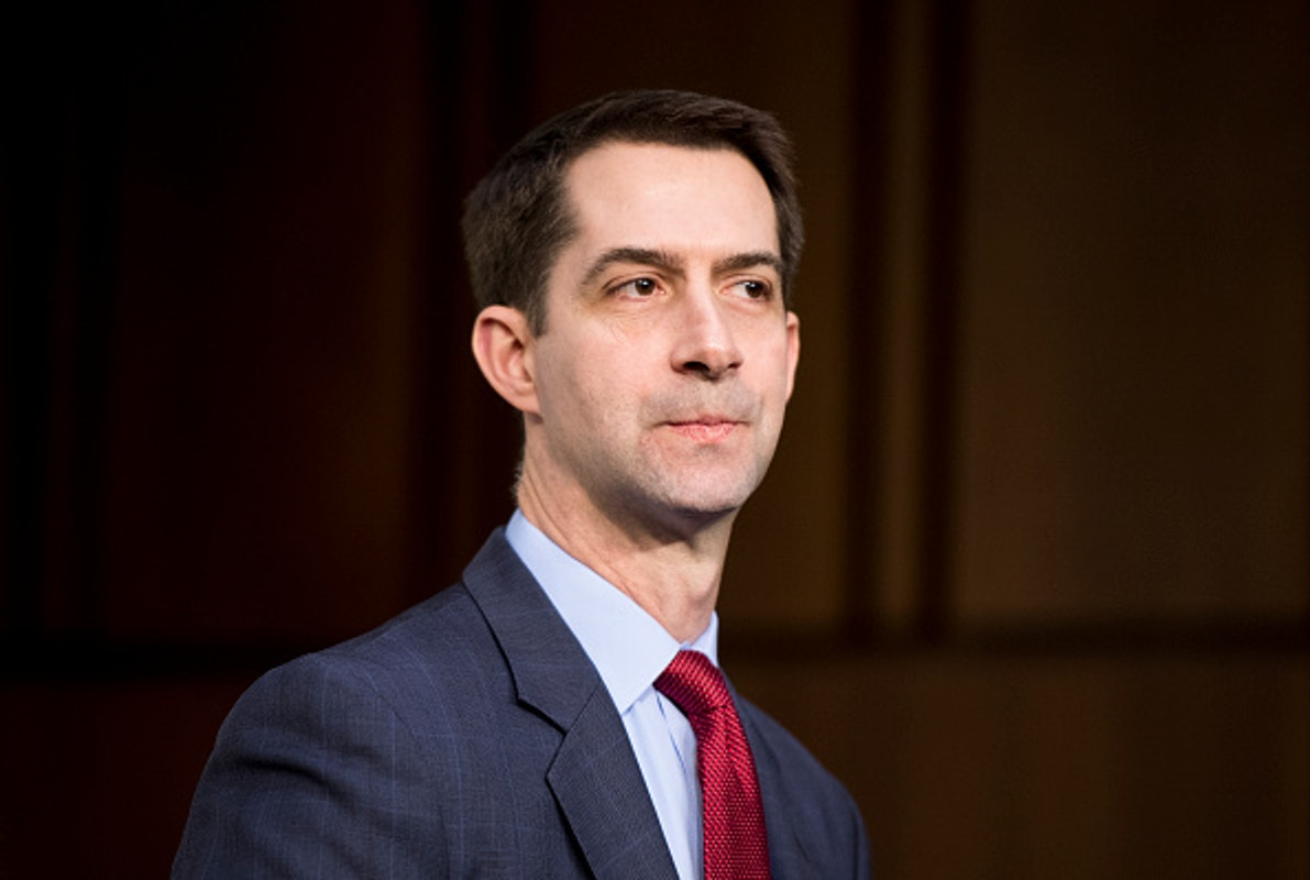 CNBC Host Taunts Cotton About Big Tech Suppression Of Biden Story. Cotton's Matchless Answer Leaves Him Speechless.   The Daily Wire