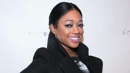 NEW YORK, NY - FEBRUARY 12: Rapper Trina attends FrontRow By Shateria Moragne-el Fashion Show at STYLE360 presented by Conair Fashion Pavilion on February 12, 2013 in New York City.