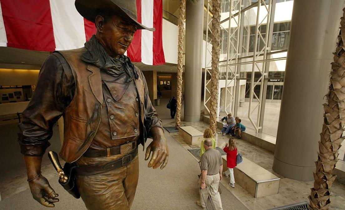John Wayne's Son Blasts Effort to Rename John Wayne Airport