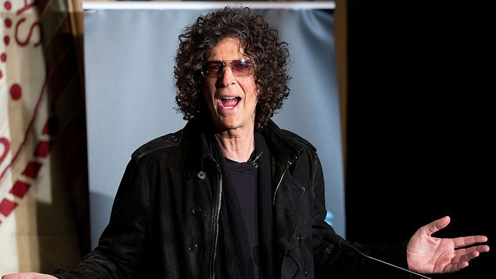"""NEW YORK, NY - MAY 10: Howard Stern attends the """"America's Got Talent"""" Press Conference at New York Friars Club on May 10, 2012 in New York City. (Photo by"""