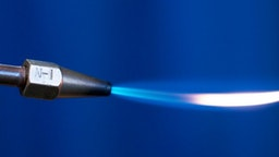 Close-Up Of Welding Torch