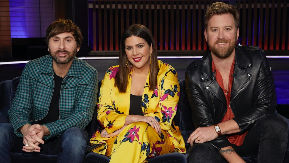Pictured: (l-r) Dave Haywood, Hillary Scott, Charles Kelley of Lady Antebellum.