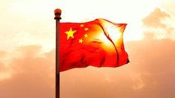 Chinese flag.
