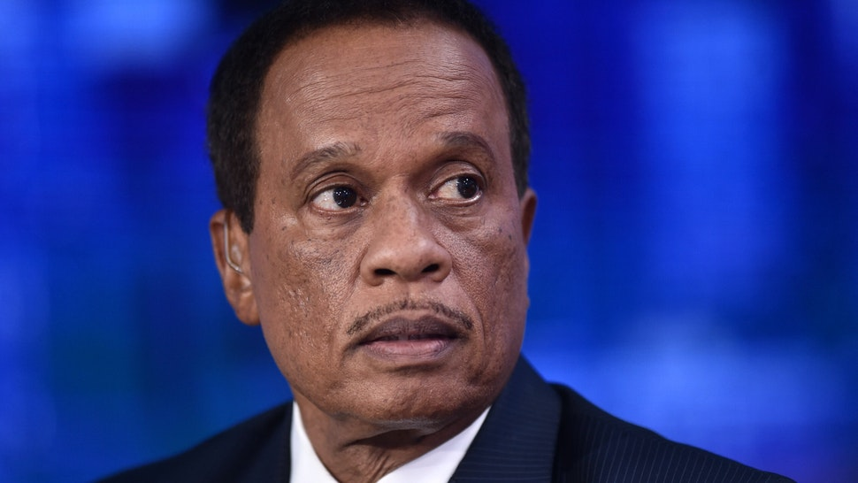"""FOX News Contributor Juan Williams visits """"The Story with Martha MacCallum"""" in the Fox News Channel Studios on September 17, 2019 in New York City."""