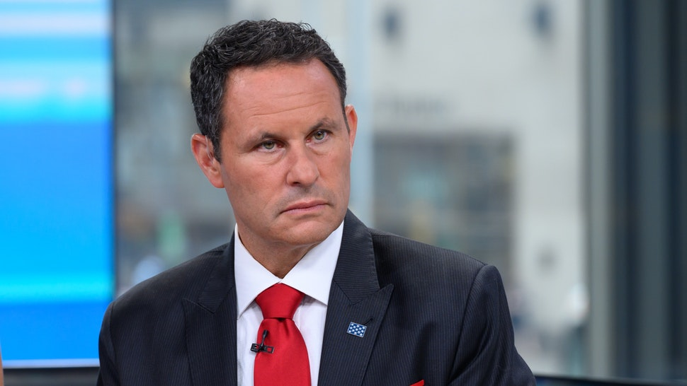 Brian Kilmeade is seen on set of Fox & Friends at Fox News Channel Studios on September 10, 2019 in New York City.