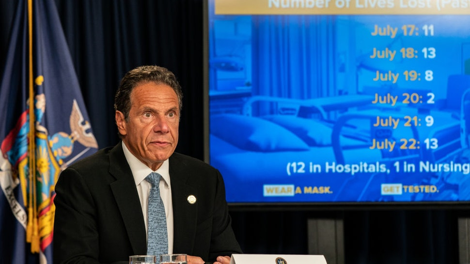 NY Gov. Cuomo To MLB: 'Come Play Here'