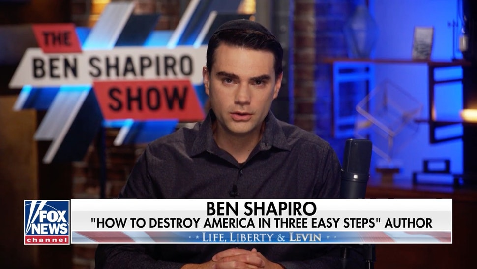 Shapiro To Levin: 'What's Happening Here Is Not Even Right Versus Left. It's Radical Left Versus Everybody Else.'