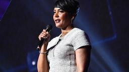Atlanta Mayor Keisha Lance Bottoms speaks onstage during 2019 Beloved Benefit at Mercedes-Benz Stadium on March 21, 2019 in Atlanta, Georgia.