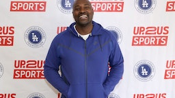 Marcellus Wiley attends Trauma-Sensitive Training for Sports Coaches in LA at Jesse Owens Recreation Center on May 23, 2019 in Los Angeles, California.