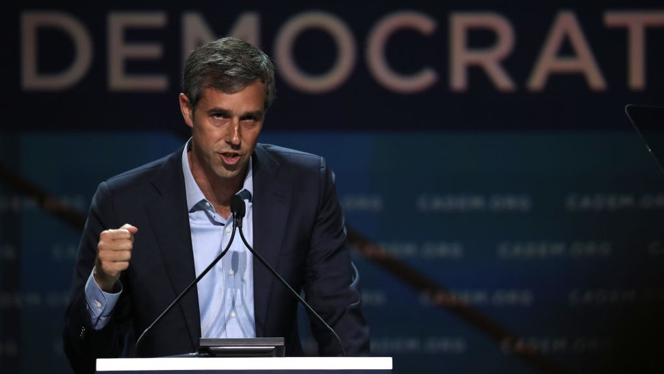 Democratic presidential hopeful former U.S. Rep. Beto O'Rourke (D-TX) speaks during the California Democrats 2019 State Convention at the Moscone Center on June 01, 2019 in San Francisco, California.