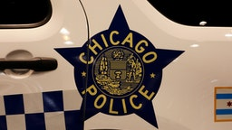 "HICAGO - FEBRUARY 06: A Chicago Police decal on a Chicago Police vehicle is on display at the 112th Annual Chicago Auto Show at McCormick Place in Chicago, Illinois on February 6, 2020. (Photo By Raymond Boyd/Getty Images)""n"