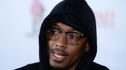 """Director Nick Cannon arrives at the 28th Annual Pan African Film Festival - """"She Ball"""" Premiere at Cinemark Baldwin Hills on February 21, 2020 in Los Angeles, California."""
