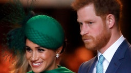 Meghan, Duchess of Sussex and Prince Harry, Duke of Sussex attend the Commonwealth Day Service 2020 at Westminster Abbey on March 9, 2020 in London, England.