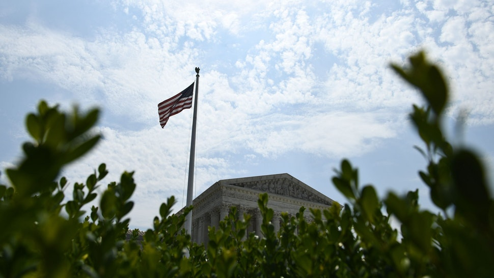 The US Supreme Court is viewed on July 6, 2020 in Washington, DC. - The Supreme Court issued a unanimous opinion on Monday that says states can require Electoral College voters to back the winner of their states popular vote in a presidential election. (Photo by Brendan Smialowski / AFP) (Photo by BRENDAN SMIALOWSKI/AFP via Getty Images)