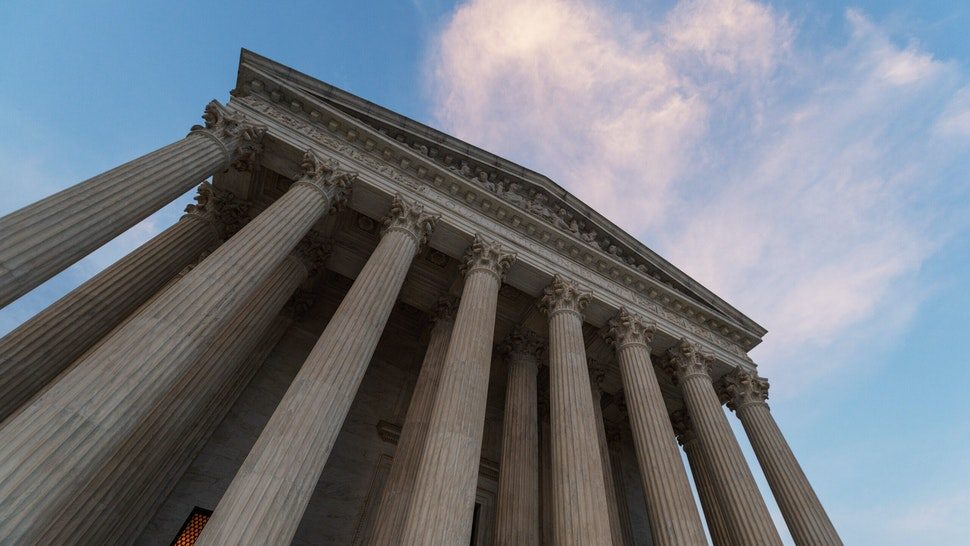 The U.S. Supreme Court building stands in Washington, D.C., U.S., on Tuesday, July 7, 2020. The court is preparing to issue the final opinions of its 2019-20 term starting today and will be ruling on congressional and New York grand jury subpoenas for President Donald Trump's financial records and on Trump's effort to carve out a broad religious exemption from the Obamacare requirement that employers and universities offer free contraceptives on their health-care plans. Photographer: Craig Hudson/Bloomberg via Getty Images