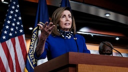 U.S. Speaker of the House Rep. Nancy Pelosi (D-CA) speaks during a news conference on July 24, 2020 in Washington, DC.