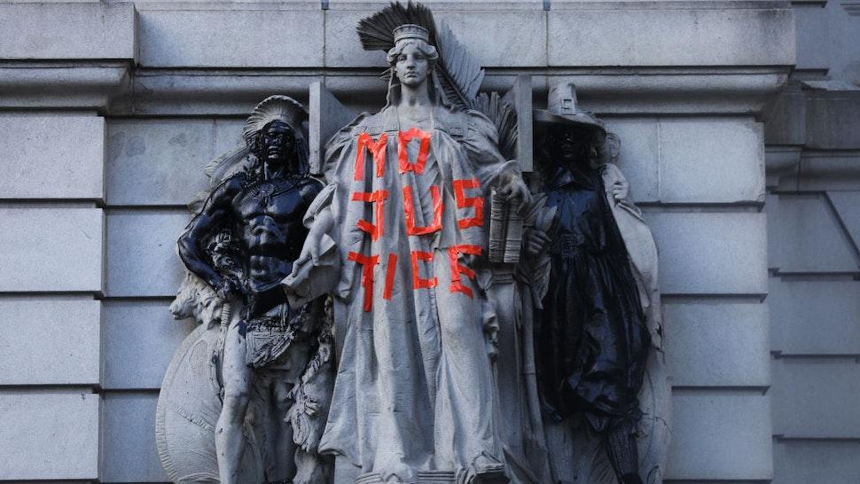 BLM Graffiti Justice