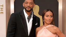 Actors Will Smith (L) and Jada Pinkett Smith attend the Oscars held at Hollywood & Highland Center on March 2, 2014 in Hollywood, California
