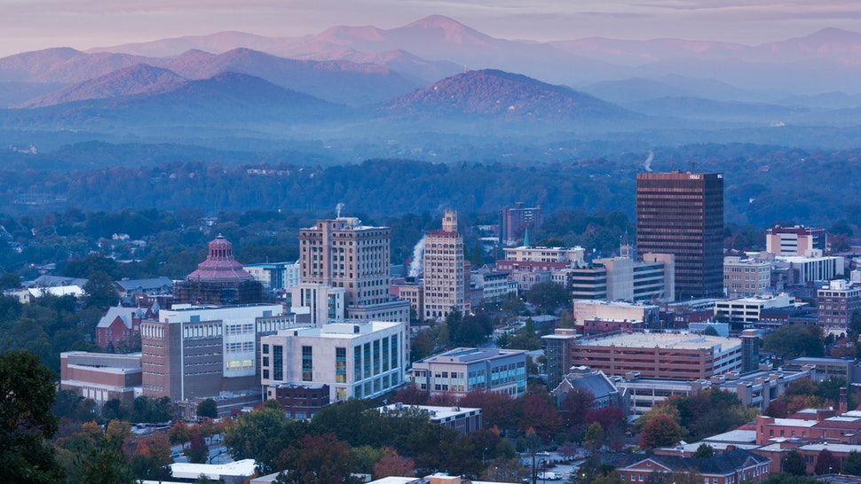 Asheville dawn