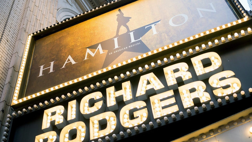 NEW YORK, NY - SEPTEMBER 28: A exterior view of Richard Rodgers Theatre on September 28, 2016 in New York City. (Photo by Mike Pont/WireImage)