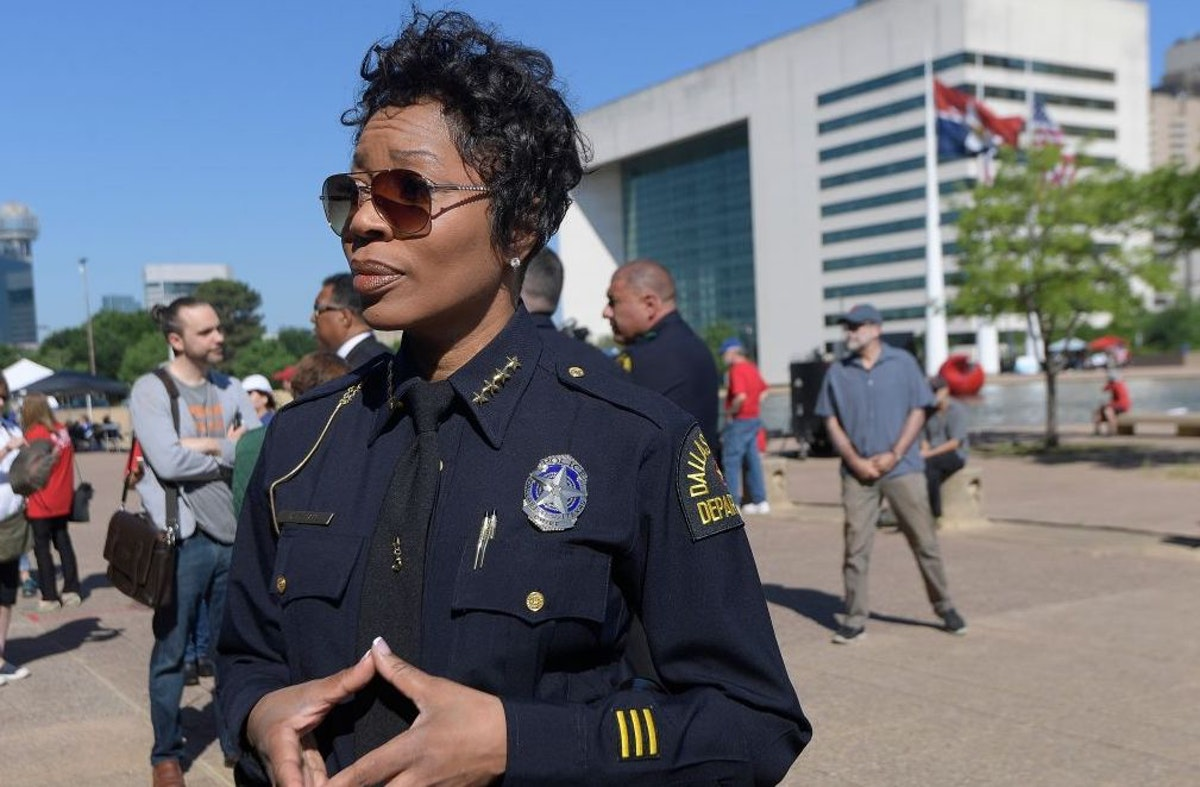 'We Warned Them': Dallas Police Chief Had Nearly 700 Protesters Taken Into Custody For Blocking Highway | The Daily Wire