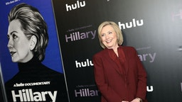 "NEW YORK, NEW YORK - MARCH 04: Hillary Rodham Clinton attends Hulu's ""Hillary"" NYC Premiere on March 04, 2020 in New York City."