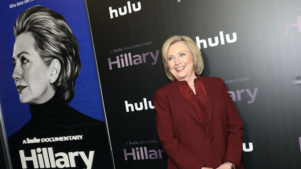 """NEW YORK, NEW YORK - MARCH 04: Hillary Rodham Clinton attends Hulu's """"Hillary"""" NYC Premiere on March 04, 2020 in New York City."""