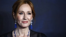 """LONDON, ENGLAND - NOVEMBER 13: J.K Rowling attends the UK Premiere of """"Fantastic Beasts: The Crimes Of Grindelwald"""" at Cineworld Leicester Square on November 13, 2018 in London, England."""