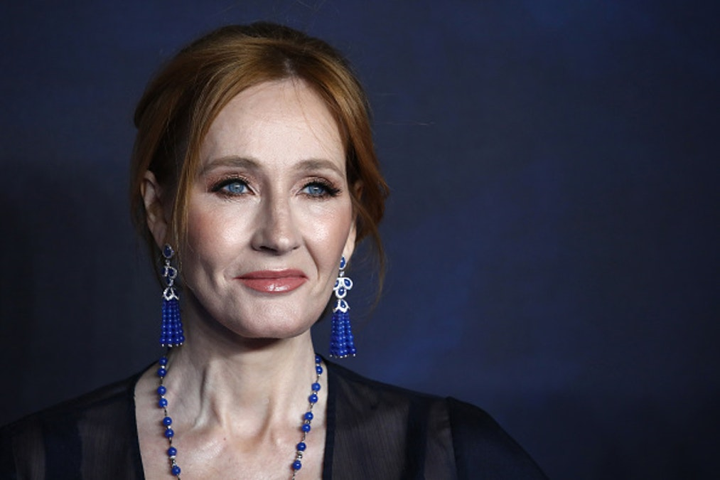 SEE IT: J.K. Rowling's Handprints Vandalized After She Opposes Transgender Ideology