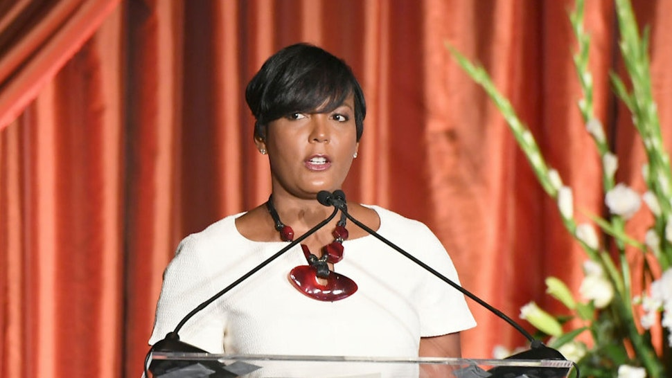 Keisha Lance Bottoms Says GOP Governor Acting 'Bizarre,' Suggests Possibility Of Sexism