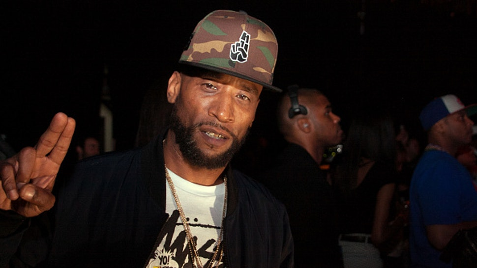 Lord Jamar attends the YO! MTV Raps 30th Anniversary Live Event at Barclays Center on June 1, 2018 in New York City.