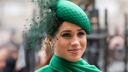 LONDON, ENGLAND - MARCH 09: Meghan, Duchess of Sussex attends the Commonwealth Day Service 2020 on March 09, 2020 in London, England.