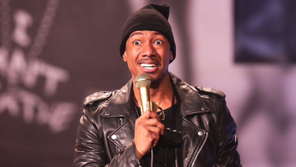 LOS ANGELES, CA - DECEMBER 09: Actor/ Producer Nick Cannon performs on stage at The Ebony Repertory Theatre on December 9, 2016 in Los Angeles, California.