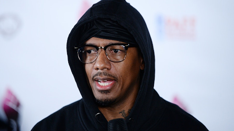 """LOS ANGELES, CALIFORNIA - FEBRUARY 21: Director Nick Cannon arrives at the 28th Annual Pan African Film Festival - """"She Ball"""" Premiere at Cinemark Baldwin Hills on February 21, 2020 in Los Angeles, California."""