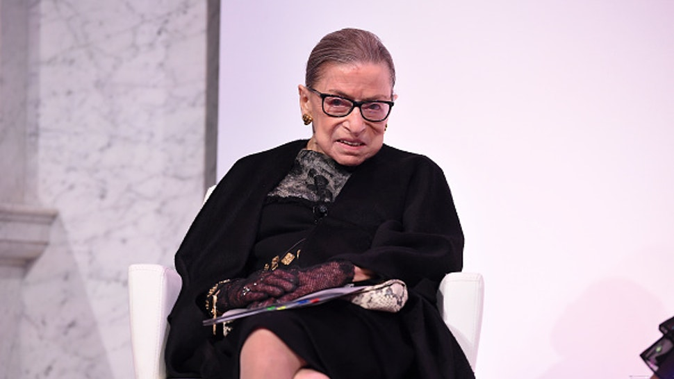 Supreme Court Justice Ruth Bader Ginsburg at the 2020 DVF Awards on February 19, 2020 in Washington, DC.