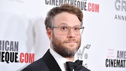 BEVERLY HILLS, CALIFORNIA - NOVEMBER 08: Seth Rogen attends the 33rd American Cinematheque Award Presentation Honoring Charlize Theron at The Beverly Hilton Hotel on November 08, 2019 in Beverly Hills, California.