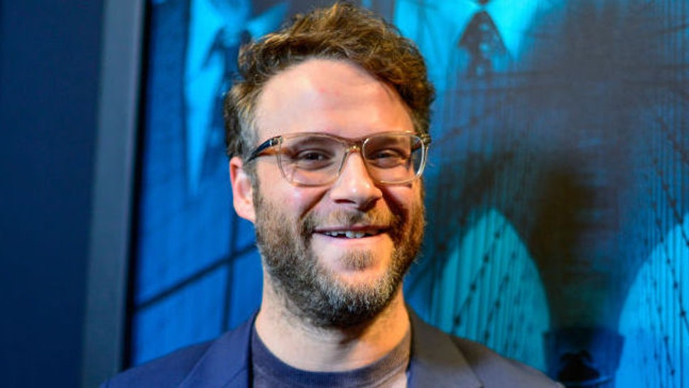 Seth Rogen arrives at Premiere Of Warner Bros Pictures' 'Motherless Brooklyn' on October 28, 2019 in Los Angeles, California. (Photo by Jerod Harris/Getty Images)